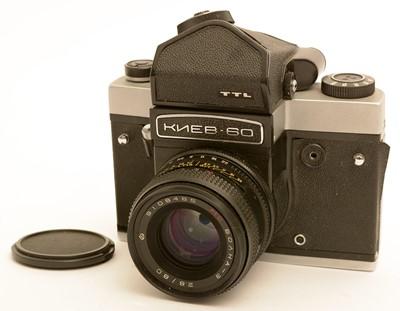Lot 788-A Kiev 60 TTL medium format SLR film camera