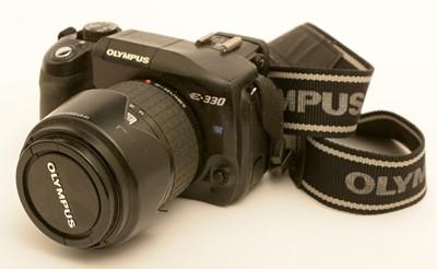 Lot 791-Olympus E-330 digital camera.