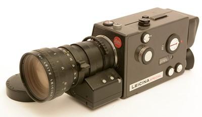 Lot 792-Leicinamatic cine camera.