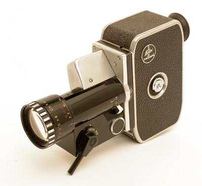 Lot 794-Bolex cine camera.