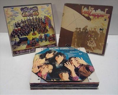Lot 90 - Rock LPs