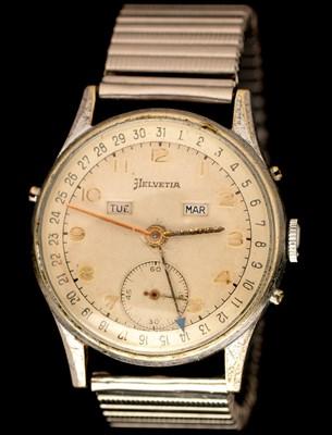 Lot 35 - Helvetia Calendar wristwatch