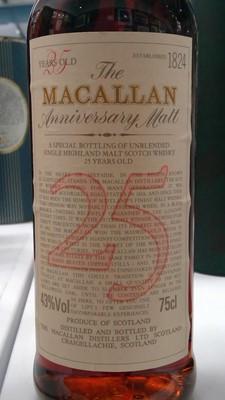 Lot 817-Macallan 25yr