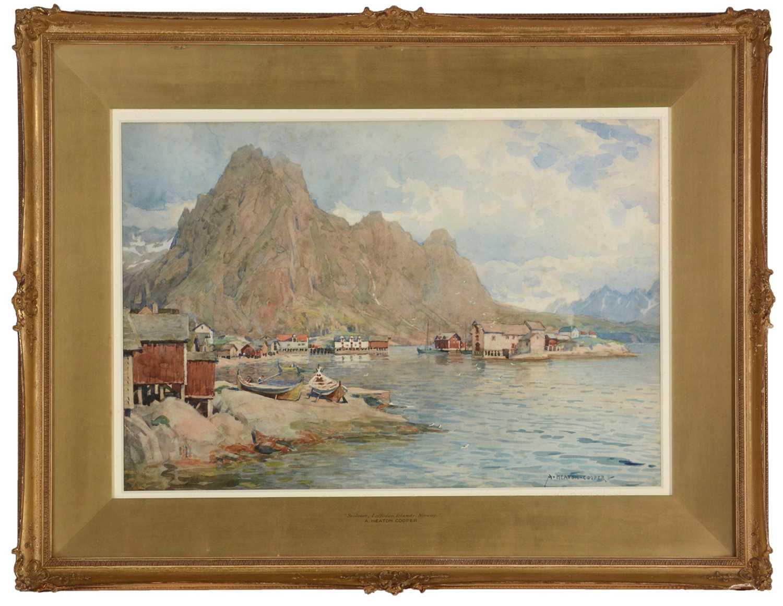652 - Alfred Heaton Cooper - watercolour.