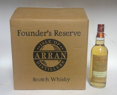 Lot 819-Case of Arran Founders Reserve