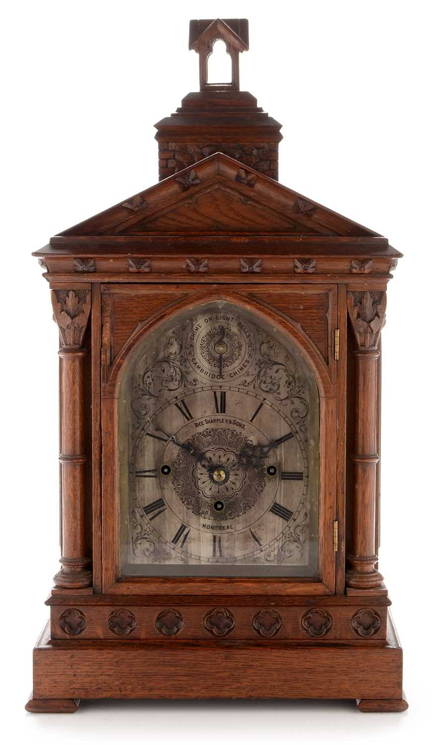 Lot 946-Canadian mantle clock