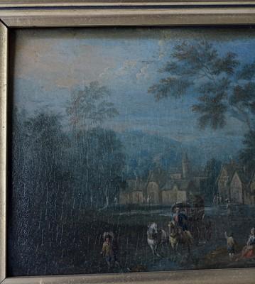 Lot 734 - 19th Century Dutch School - oil.
