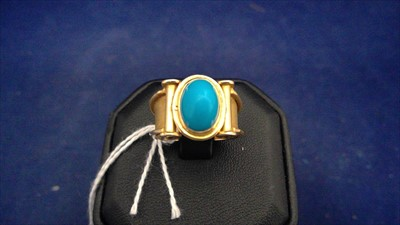 Lot 458-Turquoise ring