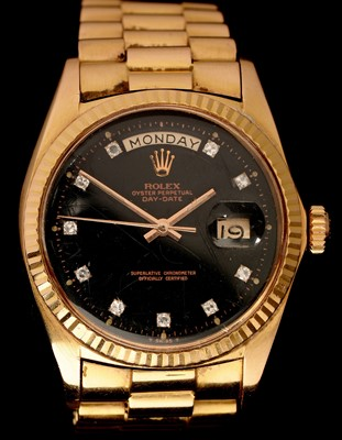 Lot 7 - Rolex Oyster 18ct