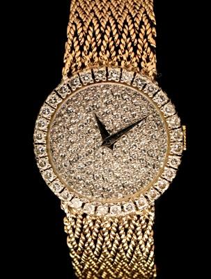 Lot 41 - Bueche Girod diamond watch