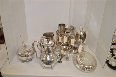 Lot 269 - Silver plate