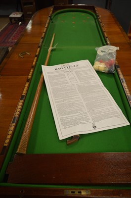 Lot 382 - Tabletop bagatelle game.
