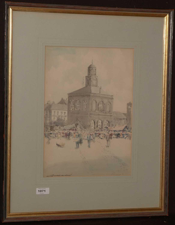 Lot 1071-Victor Noble Rainbird - watercolour.