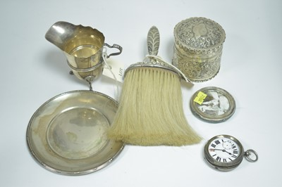 Lot 1-Silver items