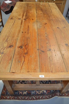 Lot 340 - Dining table.