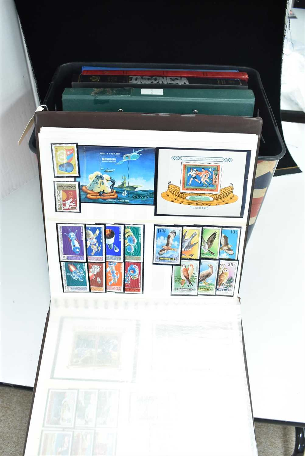 Lot 1404-Stamps.