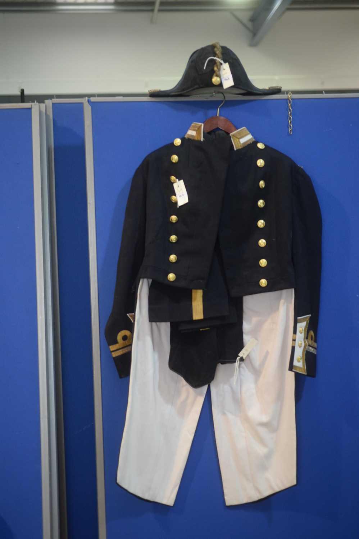 Lot 963-Full dress Royal Navy Uniform