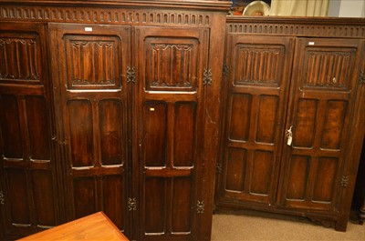 Lot 451 - Two wardrobes.
