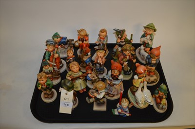 Lot 114 - Hummel figures