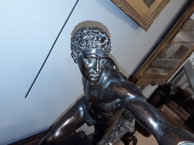 Lot 995-After the antique: Borghese Gladiator