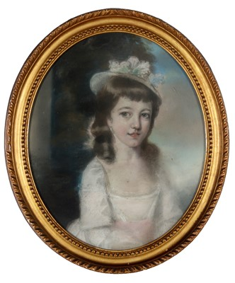 Lot 589 - Attributed to Sir Thomas Lawrence - watercolour.