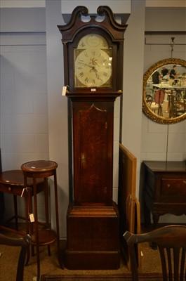 Lot 476 - Longcase clock.