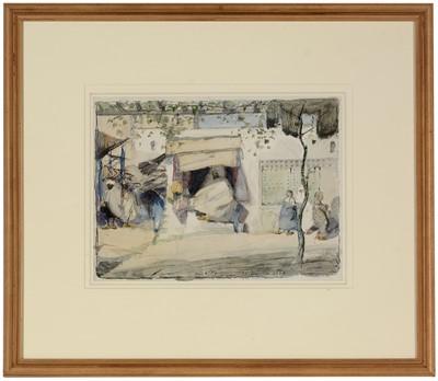 Lot 286-James McBey - watercolour.
