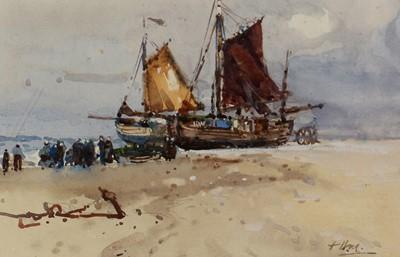 Lot 316-Frank Henry Algernon Mason - watercolour.