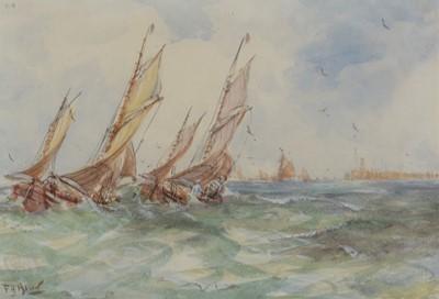 Lot 317-Frank Henry Algernon Mason - watercolour.