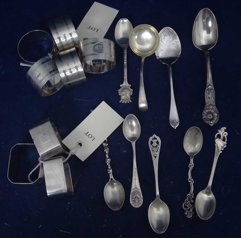 Lot 29-Silver items