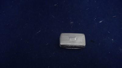 Lot 35-Silver vinaigrette