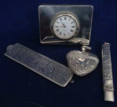 Lot 45-Silver items