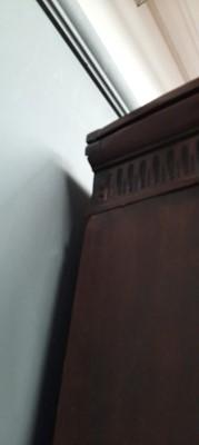 Lot 1161-19th Century mahogany breakfront bookcase