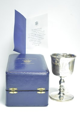 Lot 26-Silver Investeture chalice