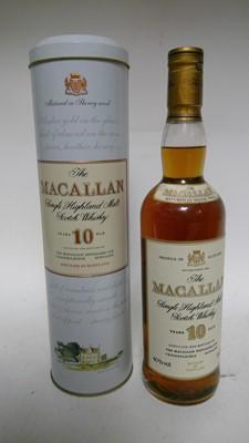 Lot 802-Macallan 10