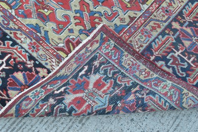Lot 868-Heriz carpet