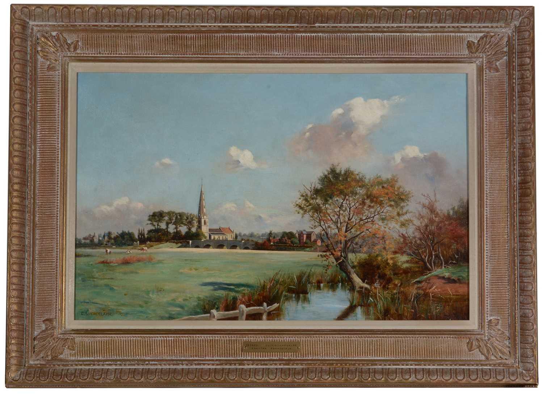 Lot 793 - Charles Spencelayh - oil.