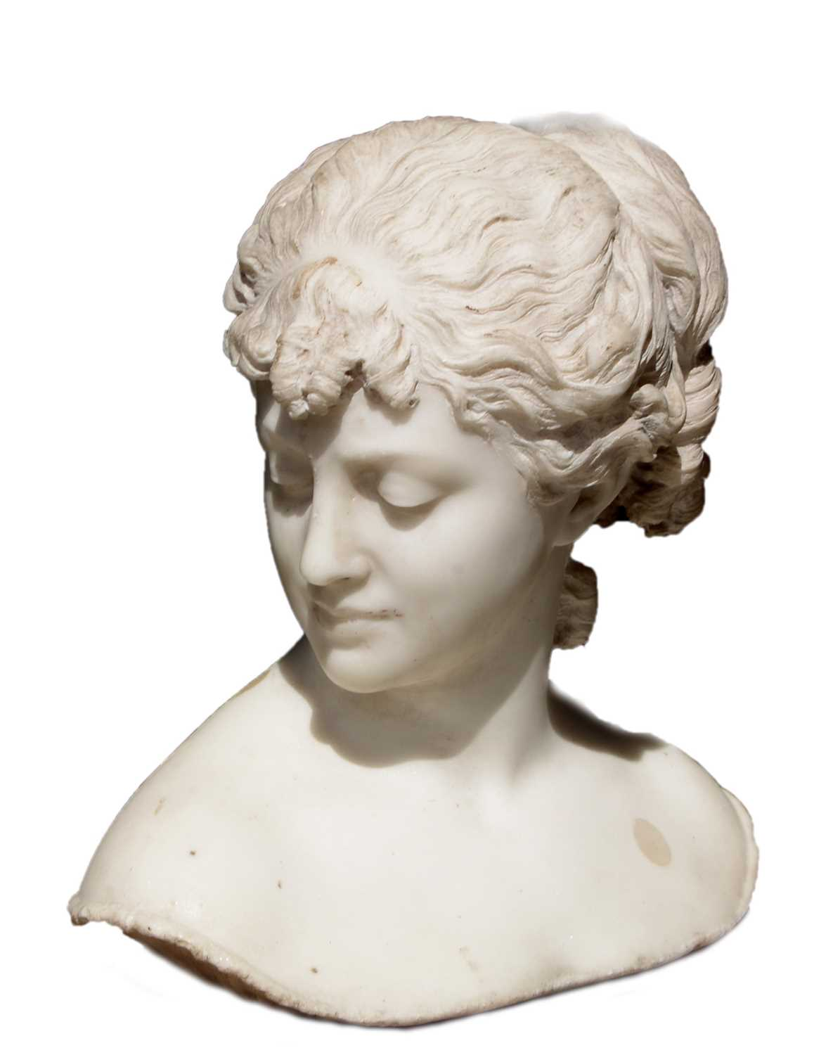 Lot 998 - 19th Century marble bust