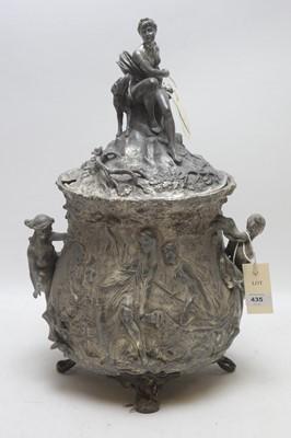Lot 435 - WMF Art Nouveau punch bowl