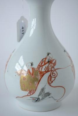 Lot 417 - 19th Century Chinese bottle vase