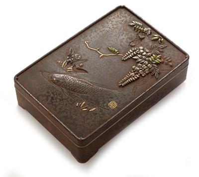 Lot 689-19th Century Japanese box