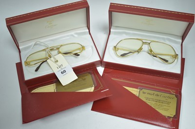 Lot 28a-Must de Cartier glasses