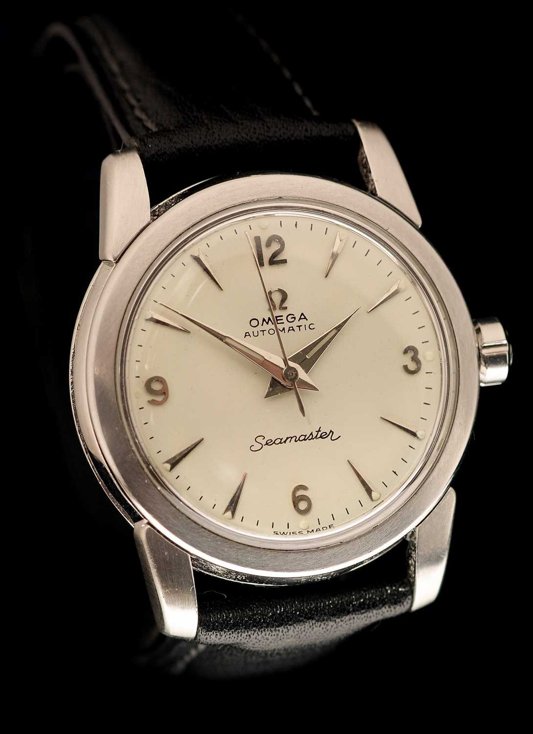 Lot 11-Omega Seamaster wristwatch.