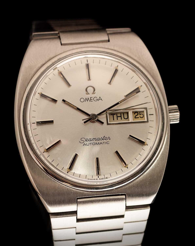 Lot 13-Omega Seamaster automatic wristwatch