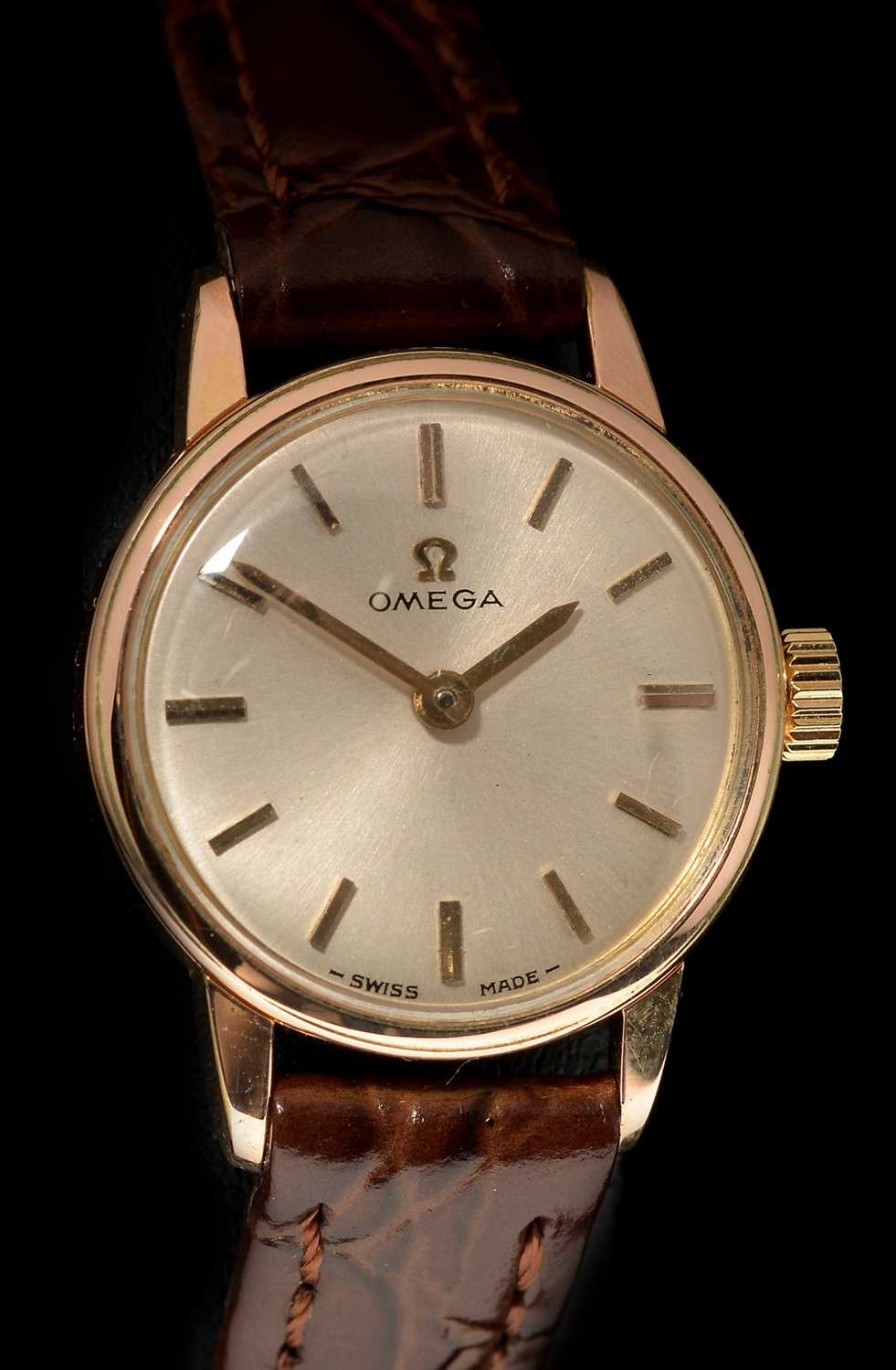Lot 14-Omega cocktail watch