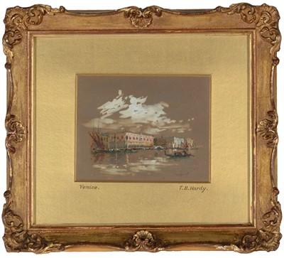 Lot 318-Thomas Bush Hardy - watercolour.