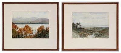 Lot 858 - Alexander Kellock Brown, and Dorothy F* Sweet - watercolours.