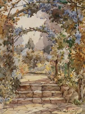 Lot 319-Vernon de Beauvoir Ward - watercolour.