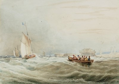 Lot 315-19th Century British School - watercolour.