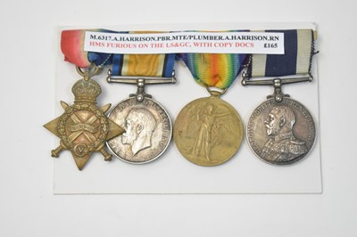 Lot 2-Royal Navy Long Service and Good Conduct group